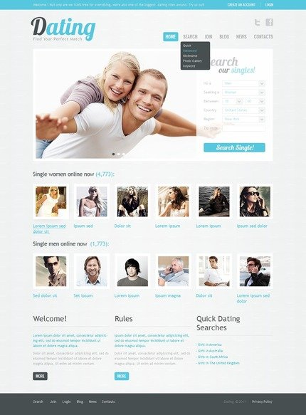 ADOBE Photoshop Template 56735 Home Page Screenshot