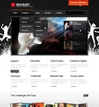 Charity PSD  Template 56736
