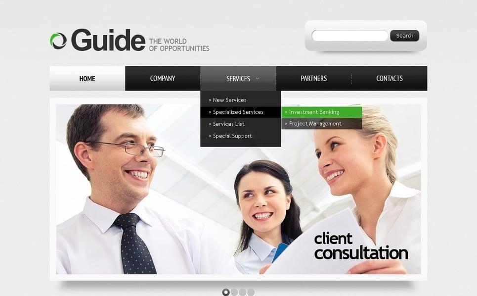Template Photoshop  para Sites de Negócios e Prestadores de Serviços  №56740 New Screenshots BIG