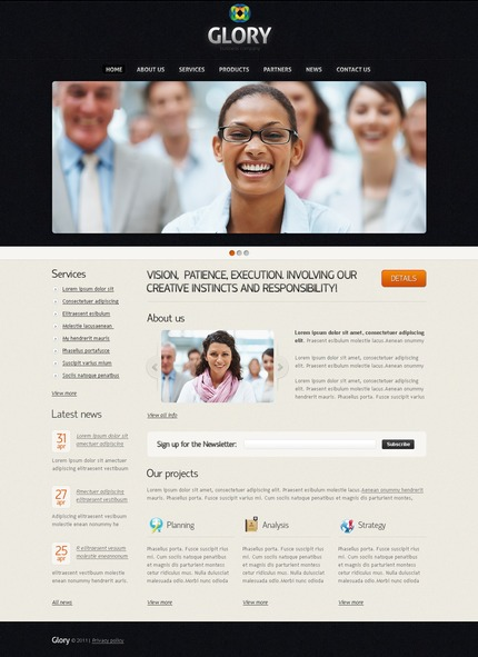 Website Template #56745
