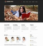 Education PSD  Template 56746