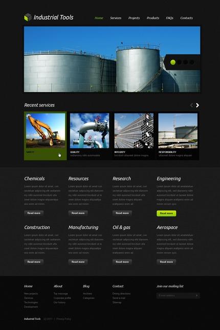 PSD макет сайта №56750