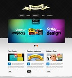 Web design PSD  Template 56756