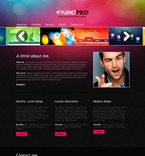 Web design PSD  Template 56757