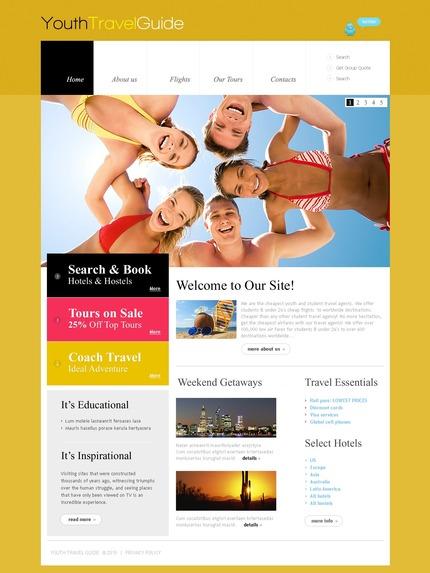 PSD макет сайта №56763