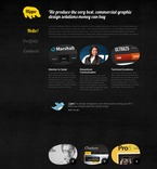 Web design PSD  Template 56765