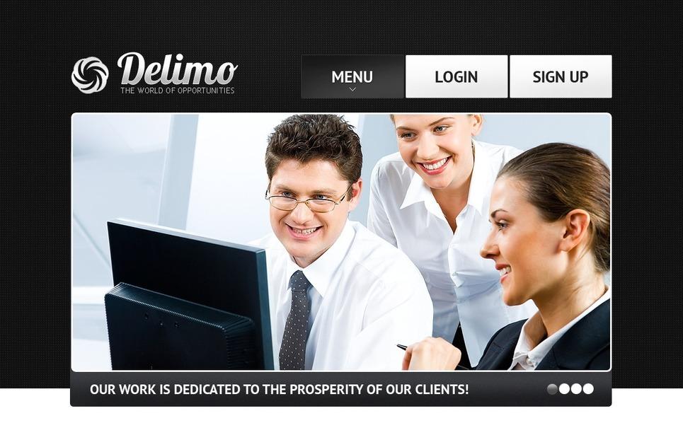 Template Photoshop  para Sites de Business & Services №56767 New Screenshots BIG