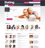 Dating PSD  Template 56772