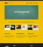 Web design PSD  Template 56775