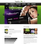Web design PSD  Template 56780