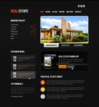 Real Estate PSD  Template 56781