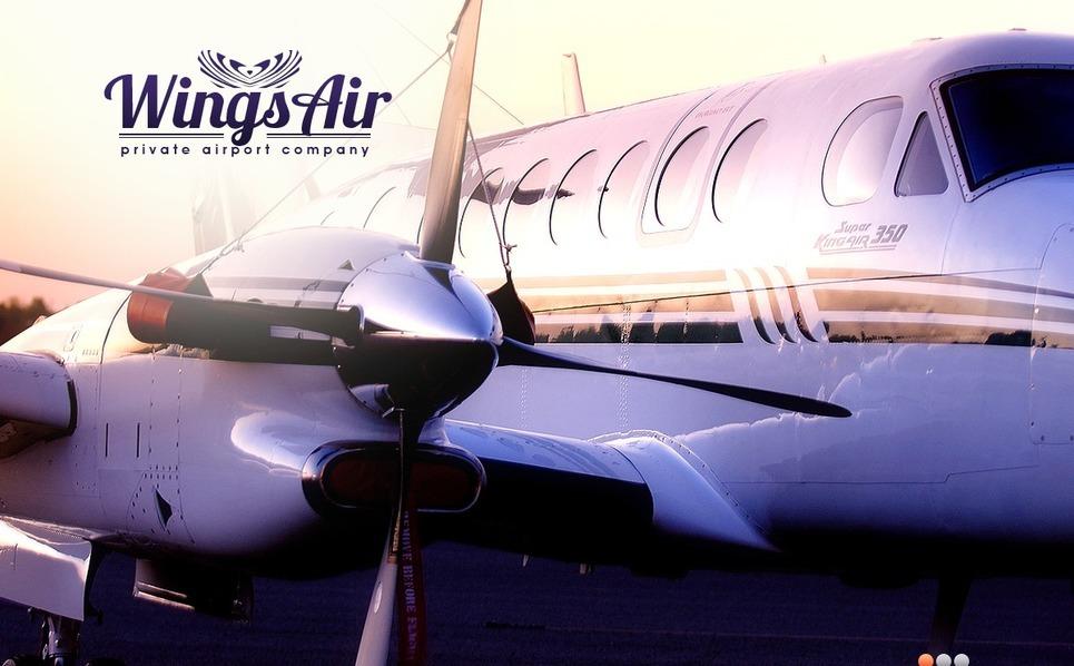 Légitársaságok PSD sablon New Screenshots BIG