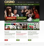 Casino PSD  Template 56791
