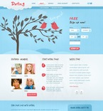 Dating PSD  Template 56792