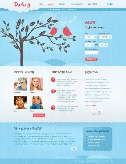 ADOBE Photoshop Template 56792 Home Page Screenshot