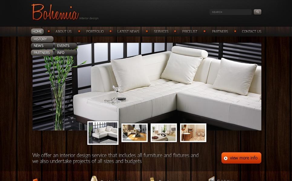 Plantilla PSD #56700 para Sitio de Diseño interior New Screenshots BIG