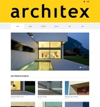 Architecture PSD  Template 56805