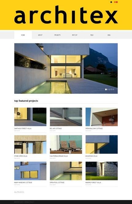 PSD макет сайта №56805