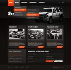 Cars PSD  Template 56815