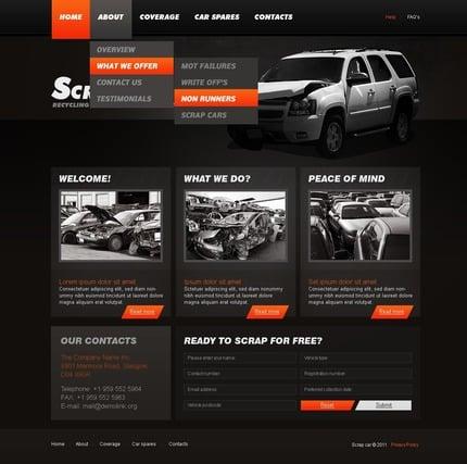 PSD макет сайта №56815