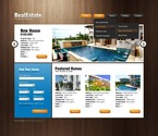 Real Estate PSD  Template 56818