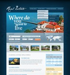 Real Estate PSD  Template 56822