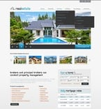 Real Estate PSD  Template 56823
