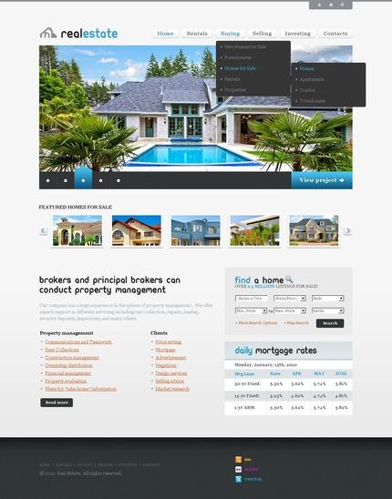 PSD макет сайта №56823