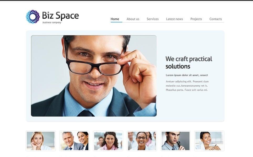 Template Photoshop  para Sites de Business & Services №56829 New Screenshots BIG
