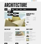 Architecture PSD  Template 56833