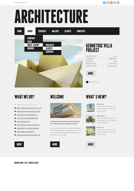 PSD макет сайта №56833