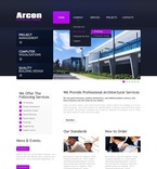 Architecture PSD  Template 56836