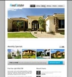 Real Estate PSD  Template 56847