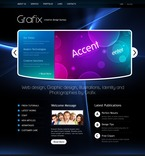 Web design PSD  Template 56854