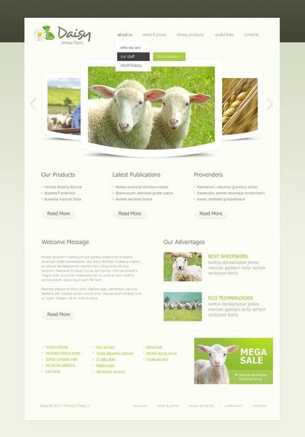 PSD макет сайта №56858