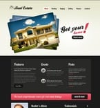 Real Estate PSD  Template 56872