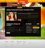 Food & Drink PSD  Template 56873