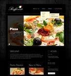 Cafe & Restaurant PSD  Template 56875