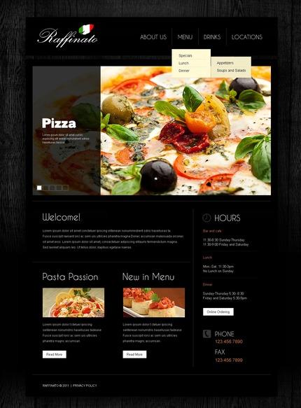 PSD макет сайта №56875