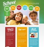 Education PSD  Template 56880