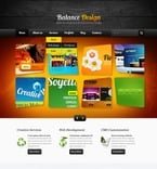 Web design PSD  Template 56881