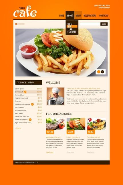 PSD макет сайта №56884