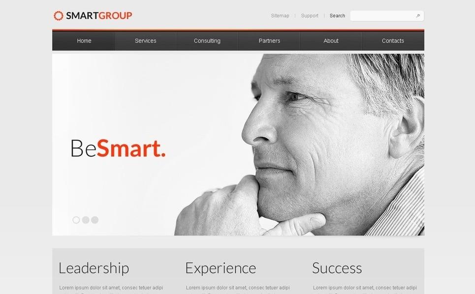 Modello PSD  #56885 per Un Sito di Business e Servizi New Screenshots BIG