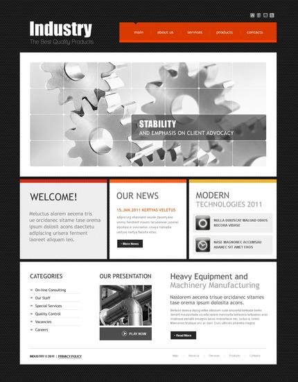 PSD макет сайта №56891