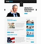 Politics PSD  Template 56897
