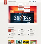 Web design PSD  Template 56899