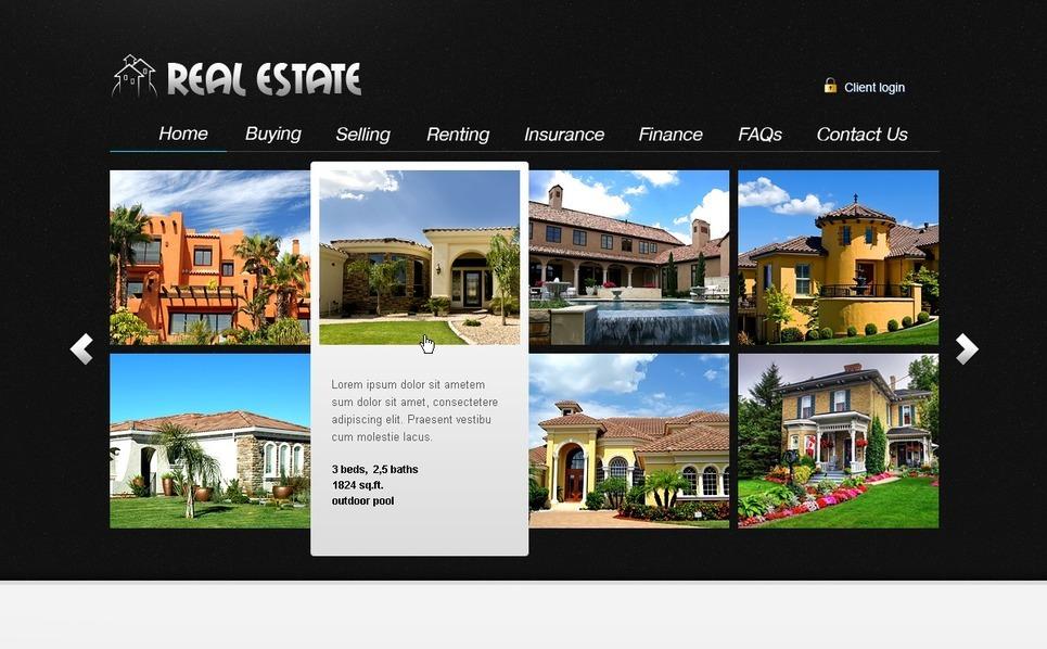PSD šablona Realitní New Screenshots BIG