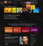 Web design PSD  Template 56905