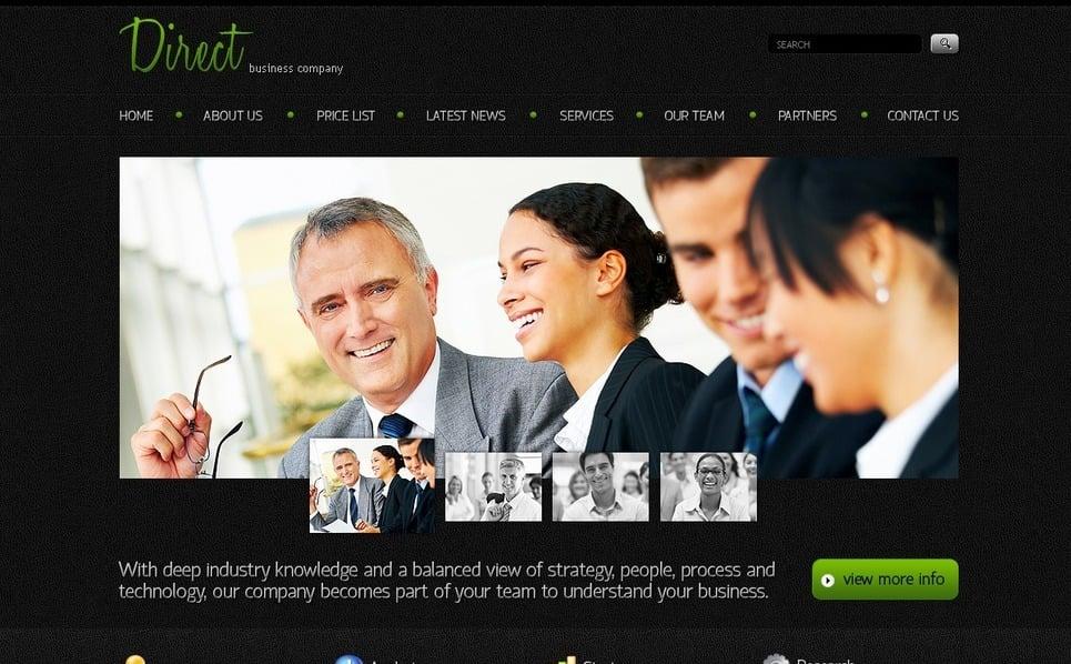 PSD шаблон №56908 на тему Бизнес и услуги New Screenshots BIG