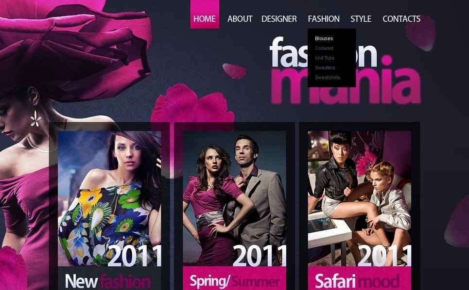 Moda  Psd Şablon New Screenshots BIG